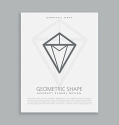 geometric shape vector image