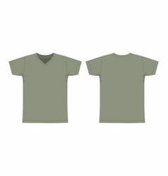 Mens military t shirt vector