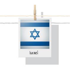 Photo israel flag vector