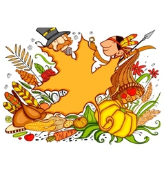 Thanksgiving Doodle vector