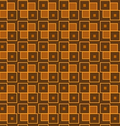 Brown geometric vector image vector image
