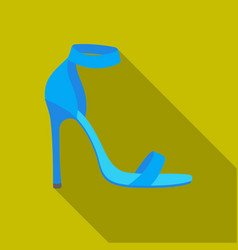 ankle straps icon in flat style isolated on white vector image vector image