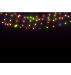 Bright lights background vector