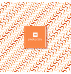 abstract orange chevron pattern diagonal on white vector image