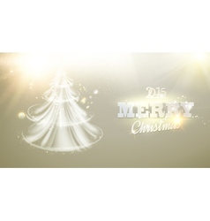 Christmas fir-tree vector image