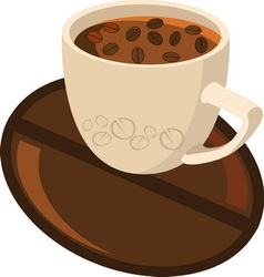 coffe 3 new1 vector image