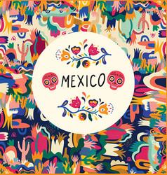 mexico5 vector image