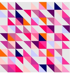 Seamless pink violet orange and white pattern vector