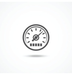 Speedometer icon vector image