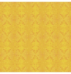 Yellow geometric background vector image