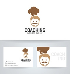 Chef Coaching vector image vector image