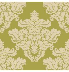 Vintage damask royal ornament element vector
