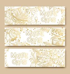 mardi gras or shrove tuesday vector image
