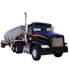 Tank Truck vector image vector image