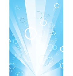 Abstract with rays vector