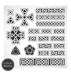 celtic knots vector image