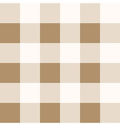 Iced Coffee Brown White Diamond Chessboard vector image