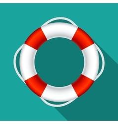 Lifebuoy Sign Symbol EPS10 vector image