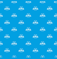painting shop pattern seamless blue vector image