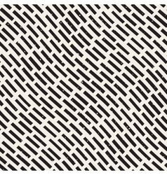 Seamless Hand Drawn Diagonal Grunge Rounded vector image