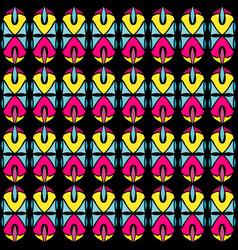 seamless pattern vintage decorative vector image