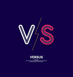 Symbol confrontation vs modern vector