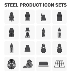 Steel structure material vector