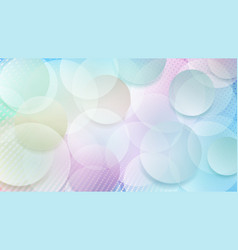 abstract background circles vector image