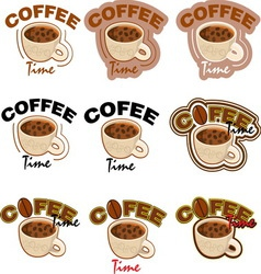 COFFE 5 new vector image
