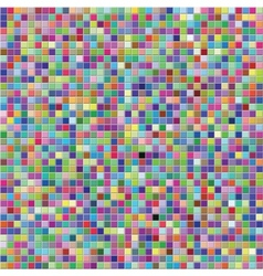Colorful tile wall vector