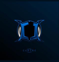 initial cl logo design initial cl logo design vector image