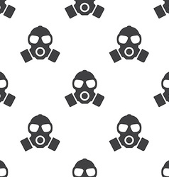respirator seamless pattern vector image