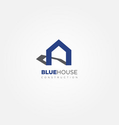 simple property house logo sign symbol icon vector image
