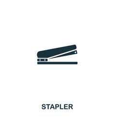 stapler icon line style icon design ui vector image