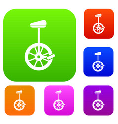 Unicycle set collection vector