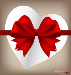 Valentines Gift Card vector image