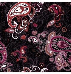 Vintage Paisley pattern vector