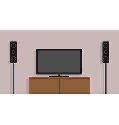 home cinema vector image