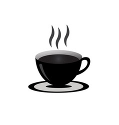 A cup coffee vector