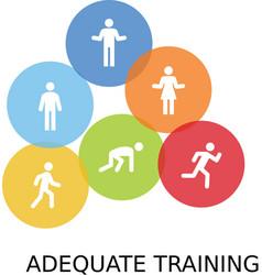 Aequate training vector