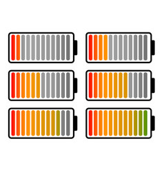 battery level clip art vector image
