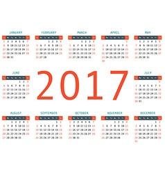 Calendar - vector image