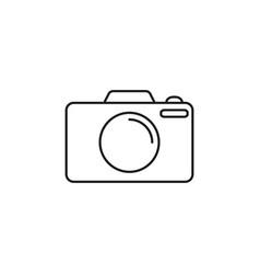 camera online icon vector image