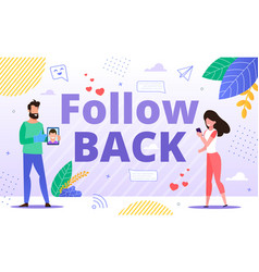Effective tool for follow back and cross promotion vector