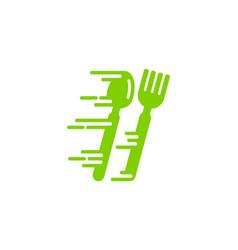 fast food logo icon design vector image