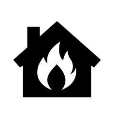firehouse icon vector image