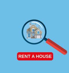 House rent icon vector