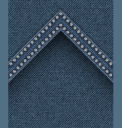 Jeans texture with angle vector