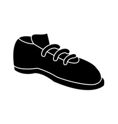 male elegant shoe vector image