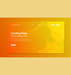Website landing page background modern abstract vector